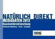 MEDIADATEN 2012 - Armin Diehl GmbH Direktwerbung