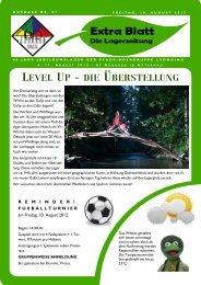 level up - die überstellung - Pfadfinder und Pfadfinderinnen Leonding