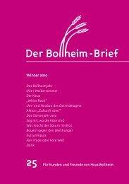 Fair Trade oder Fare Well? Noch ein Kulturimpuls! - Haus Bollheim