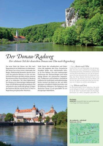 Der Donau-Radweg - Die Landpartie Radeln und Reisen GmbH