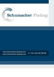 Brochure - Schumacher Plating