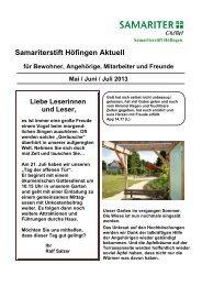 5. - Samariterstiftung