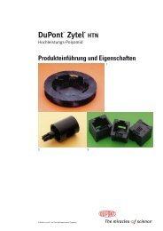 Zytel® HTN Produkteinführung und Eigenschaften - Plastics ...