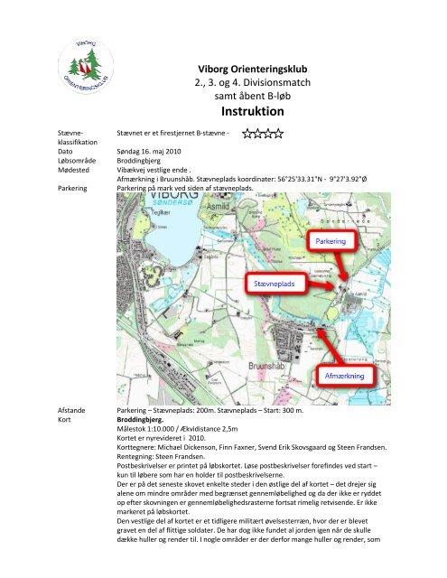 Instruktion - Viborg Orienteringsklub