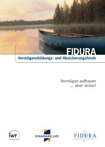 Broschüre FIDURA Vermögensbildungs- und ... - BIT Treuhand AG