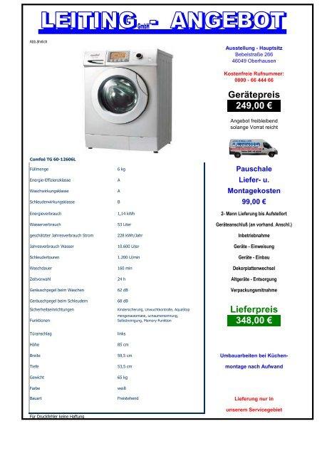 Gerätepreis 249,00 € Lieferpreis 348,00 €
