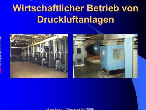 0308 Wirtschaftlicher Betrieb von Druckluftanlagen maerz 08