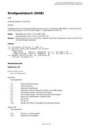 Strafgesetzbuch (StGB) - ICRC