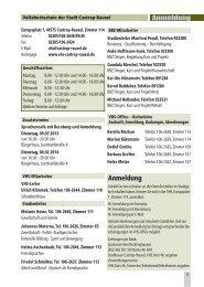 VHS Programm 2013-2014 Castrop-Rauxel - Stadt Castrop-Rauxel