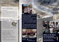 Bilder an der Mauer - Emmaus Gemeinde Juegesheim