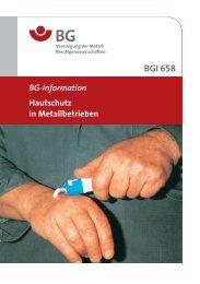 BGI 658 01.pdf, Seiten 57-75 - Berufsgenossenschaft Holz und Metall