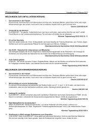 Pressespiegel vom 3. Februar 2010 Nr. 26 - Hauptverband