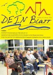 DEIN Blatt Ausgabe 2 - Deininghausen