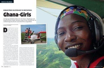 Am Kpong Airfield in Ghana ist ein ebenso ehrgeiziges wie ...