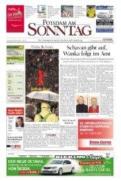 Aus unserem aktuellen Angebot 2013 - Potsdamer Neueste ...