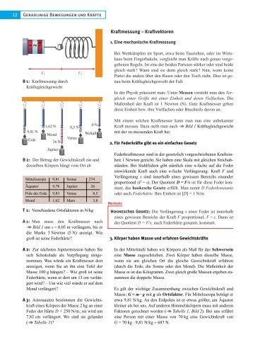 1. Geradlinige, gleichförmige Bewegung Bewegung mit konstanter ...