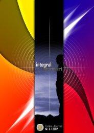 integral informiert - Nummer 2/2007 - Seite 1 - Integrales Forum