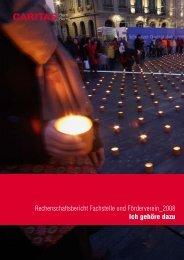 Rechenschaftsbericht Fachstelle und ... - Caritas Bern