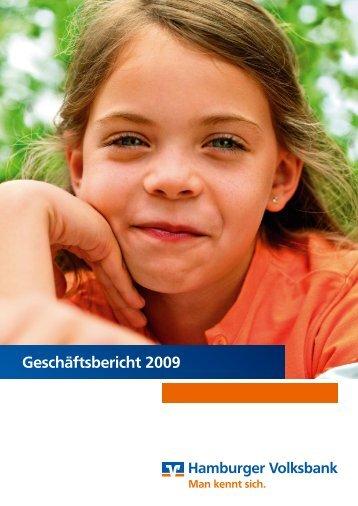 Geschäftsbericht 2009 - Hamburger Volksbank