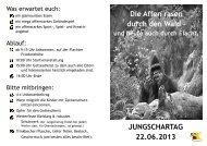 Jungschartag 2013 Flyer - Ev. Jugendwerk Bezirk Leonberg