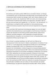 2. EINTEILUNG UND MERKMALE DER KARDIOMYOPATHIEN 2.1 ...