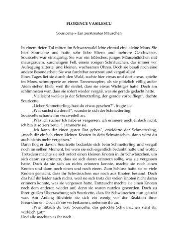 Souricette – Ein zerstreutes Mäuschen - Studies2