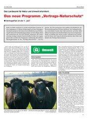 Vertragsnaturschutz I - Landesamt für Landwirtschaft, Umwelt und ...