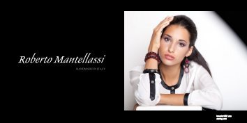 Watch our look book - ROBERTO MANTELLASSI