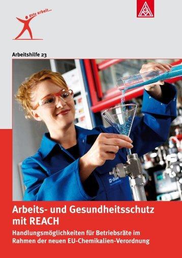 Arbeits- und Gesundheitsschutz mit REACH ... - oeko-works.de