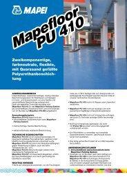 Mapefloor PU 410 Mapefloor PU 410 - Mapei