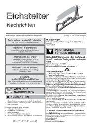 n Zugeflogen Schadstoff-Sammlung der Abfallwirt - Gemeinde ...