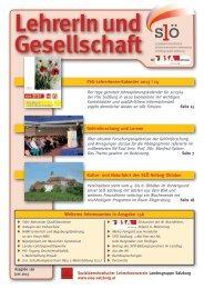 156_Juni_2013 - Sozialdemokratischer LehrerInnenverein ...