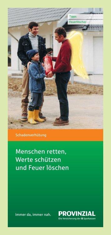 Infoblatt Feuerlöscher als PDF herunterladen