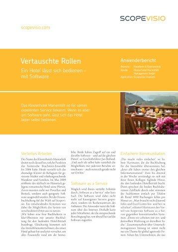 Lesen Sie hier den Anwenderbericht als PDF - Scopevisio AG