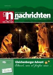 Die Region Bad Gleichenberg - Gleichenberger Nachrichten