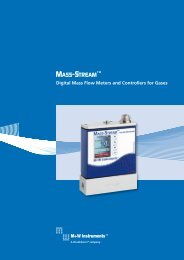 digital Mass Flow Meters and Controllers for Gases - Bronkhorst