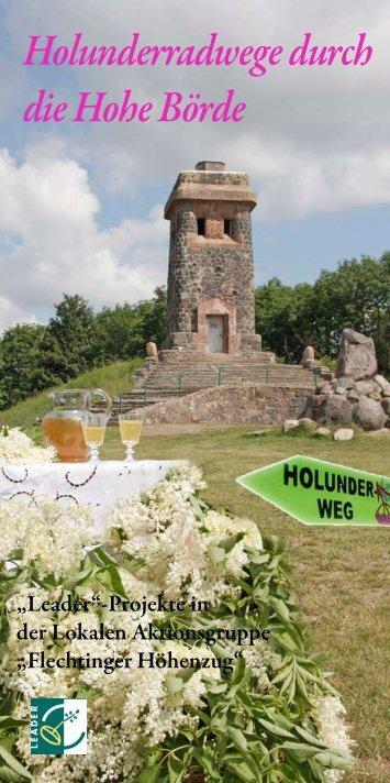 Holunderradwege durch die Hohe Börde - Holli-Holler.de