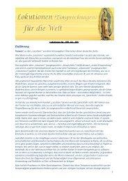 Lokutionen Einsprechungen 200-385.pdf - Gott ist die Liebe