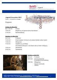 Tagesordnung zur 3 - Sozialverband Deutschland e.V. ...
