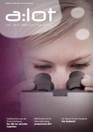 a:lot - Das Elektronik-Magazin von Wetec