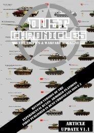 Axis Armored Platoon - Dust Chronicles