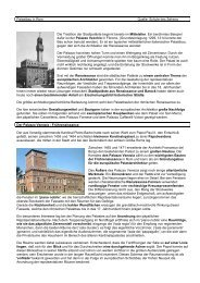 Palastbauten Skriptum - Deutsche Schule Rom
