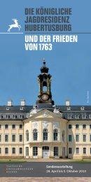 Der Ausstellungsflyer - Staatliche Kunstsammlungen Dresden