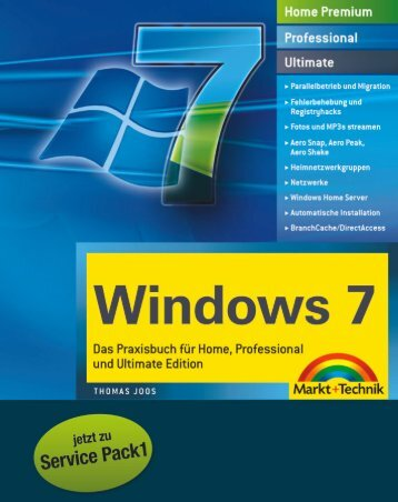 Windows 7 SP1 Kompendium  - *ISBN 978-3-8272 ...