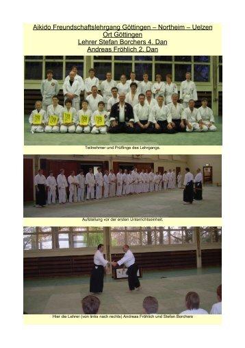 Bilder - Aikido-Verein Göttingen