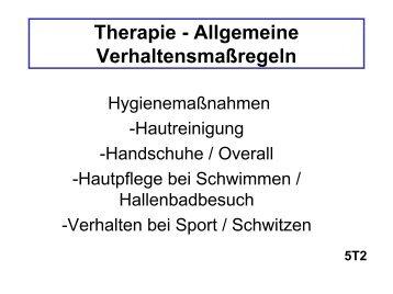 Neurodermitis, Verhaltensregeln - ulmmed