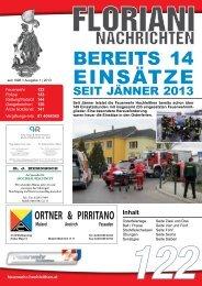 1/2013 - Freiwillige FEUERWEHR | Hochleithen