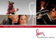Theater- und Konzertprogramm 2010/2011 - Stadttheater Amberg