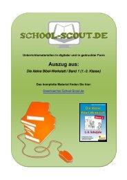 Die kleine Bibel-Werkstatt / Band 1 (1.-3. Klasse) - School-Scout