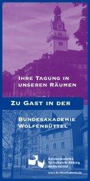 Flyer Gastbelegung - Bundesakademie für Kulturelle Bildung ...